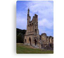 Byland Abbey #6 Canvas Print