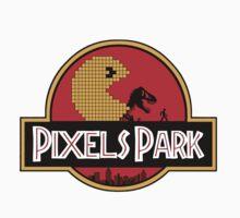 Pixels Park Baby Tee