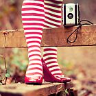 Socks and Camera by Sharonroseart