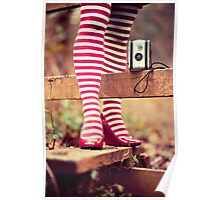 Socks and Camera Poster