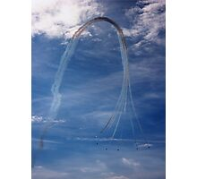 Red Arrows! Photographic Print