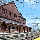 Historic New London Union Station - Track 2 by Jack McCabe