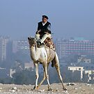 Policeman on a Camel by Sheila Laurens