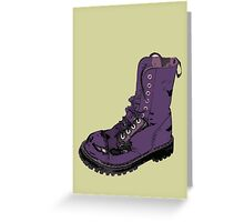 Give 'Em the Boot Greeting Card