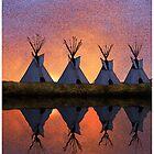 Dawn on the Washita by Randy Shields