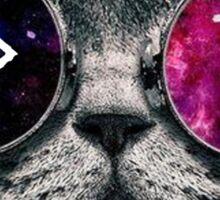 ADPi Galaxy Cat Sticker