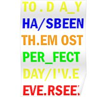 Radiohead - Videotape - Lyrics 1 Poster