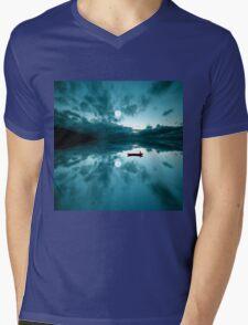 QUIET Mens V-Neck T-Shirt
