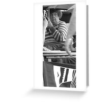 smile, it might never happen. Greeting Card