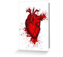 Heart Blood Greeting Card