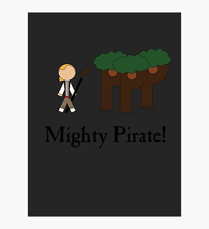 Guybrush Threepwood Mighty Pirate Photographic Print