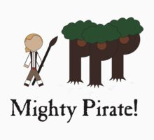 Guybrush Threepwood Mighty Pirate Kids Tee