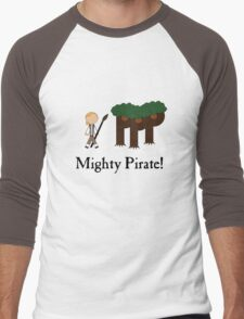 Guybrush Threepwood Mighty Pirate Men's Baseball ¾ T-Shirt