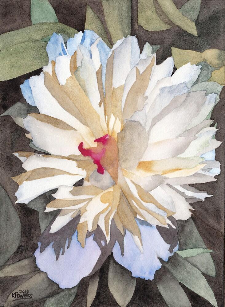 Feathery Flower by Ken Powers