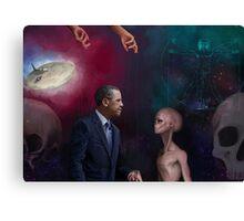 Alienated Alien Nation Canvas Print