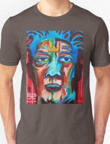 'Portrait of Jean-Michel Basquiat' Unisex T-Shirt