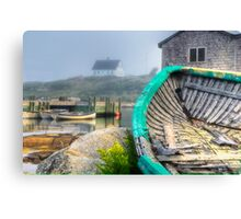 Dilapidated Dory Canvas Print
