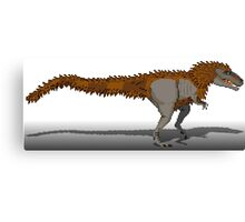 Tyrannosaurus Rex (with extra fuzz) Canvas Print