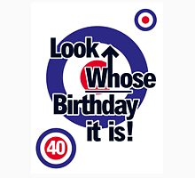 Who Birthday Card (Add any Age - no extra cost!) Unisex T-Shirt