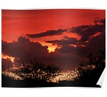 Sunset 8-19-10 Poster