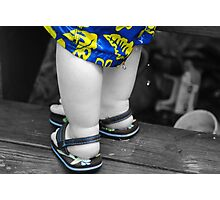 Little cankles Photographic Print