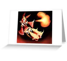 Flareon Greeting Card