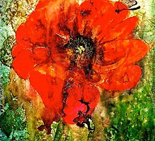 The Poppy Journals...The Butterfly and The Lizard.. by ©Janis Zroback