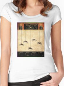 All Those Spiders! Women's Fitted Scoop T-Shirt