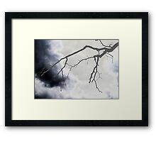 Lightening Spooks Framed Print