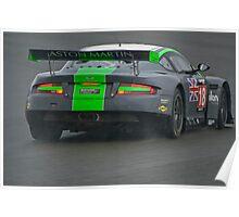 Barwell Cadena Aston Martin Poster