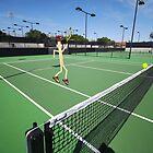 Tennis match by Susan Littlefield