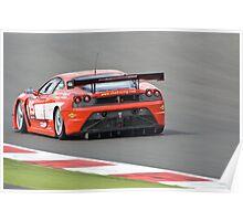 Chad Racing Ferrari F430 Poster