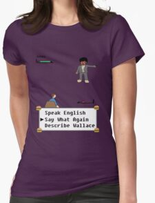 Pulp Fiction - Say What Again? Womens Fitted T-Shirt