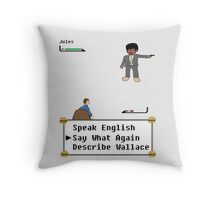 Pulp Fiction - Say What Again? Throw Pillow