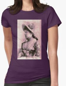 Lillie Langtry ca.1882 Womens Fitted T-Shirt