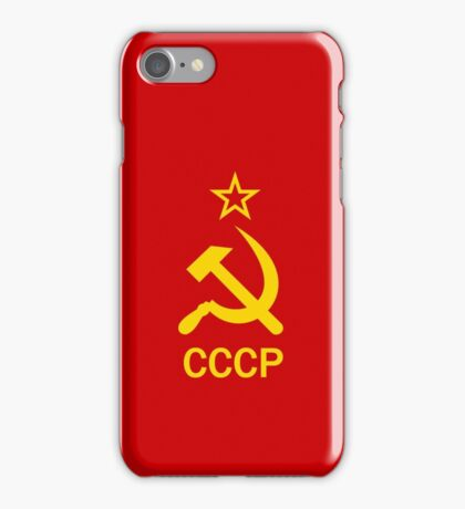 Smartphone Case - Flag of The Soviet Union (USSR) VI iPhone Case/Skin