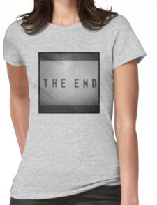Pokemon Yellow / THE END Womens Fitted T-Shirt