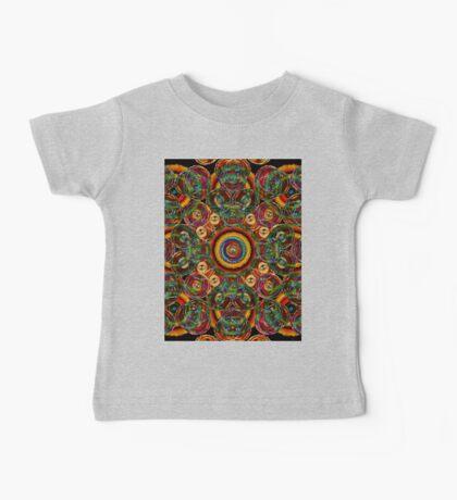 colorful circle abstract Baby Tee