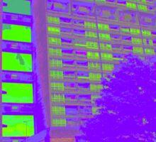 Balfron Tower, Erno Goldfinger, 1968 Sticker