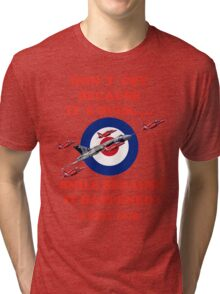 Vulcan Final Flight With The Red Arrows - Tee Shirt Tri-blend T-Shirt