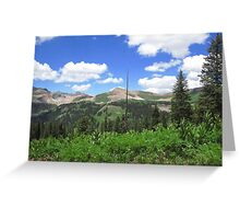 high country Greeting Card