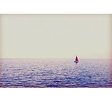 Sail Boat  Photographic Print