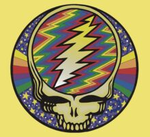 Steal your face - Stars and rainbow - Grateful Dead Kids Tee