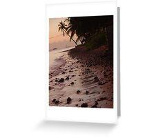 Rocks at Sunset Lahaina Maui, Hawaii Greeting Card