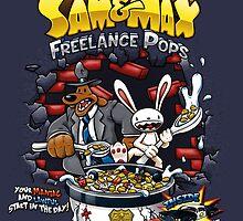 Sam & Max Freelance Pops by crula