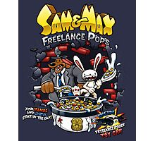 Sam & Max Freelance Pops Photographic Print