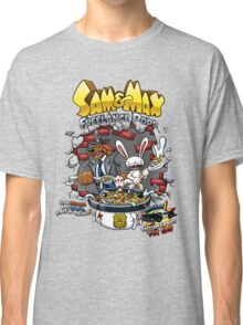 Sam & Max Freelance Pops Classic T-Shirt