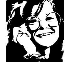Janis Joplin by 53V3NH