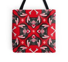 Bat Head Pattern Tote Bag