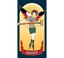 Winged Resolve Photographic Print